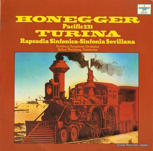 WEINBERG, ARTHUR turina; sinfonia sevillana SUM1061 - front cover