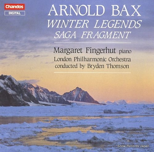 THOMSON, BRYDEN bax; winter legends for piano and orchestra ABRD1195 - front cover
