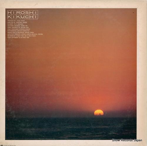 KIKUCHI, HIROSHI lullaby machikado GWP-1002 - back cover