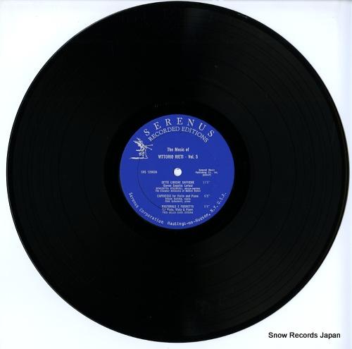 V/A the music of vittorio rieti-vol.5 SRS12063 - disc