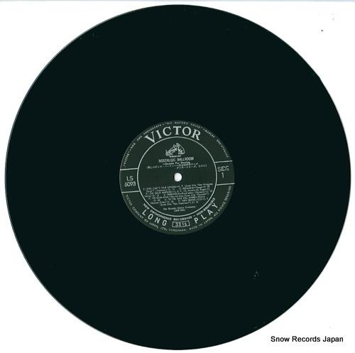 BLUESKY DANCE ORCHESTRA, THE nostalgic ballroom bluesky LS-5093 - disc