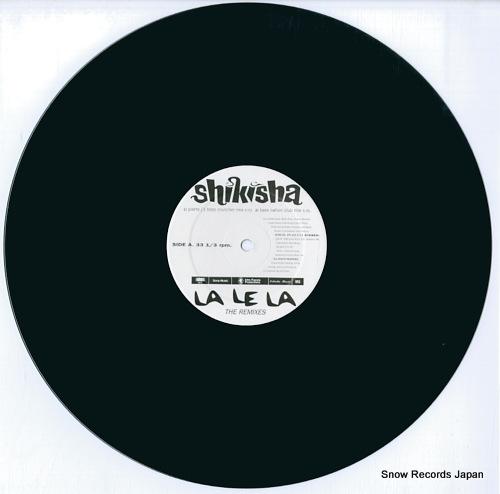 SHIKISHA la le la - the remixes EPC-663-271-6 - disc