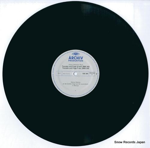 WALCHA, HELMUT bach; toccatas and fugues 198304 - disc