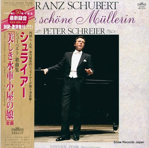SCHREIER, PETER schubert; die schone mullerin FEX-23-VI - front cover