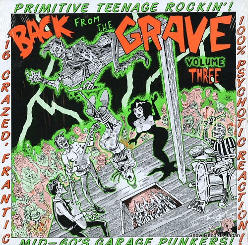 V/A back from the grave volume three CRYPT003