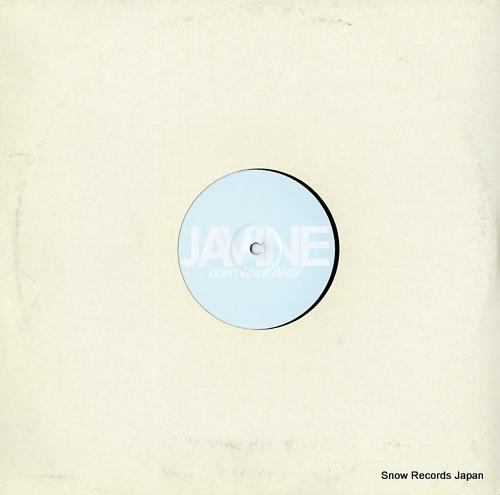 JAVINE don't walk away the remixes JAV001 - back cover