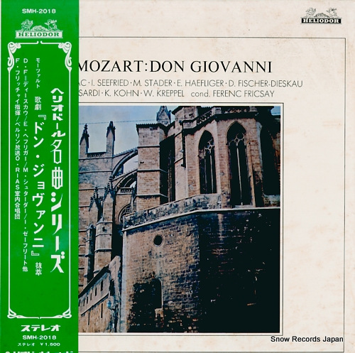 FRICSAY, FERENC mozart; don giovanni SMH-2018 - front cover