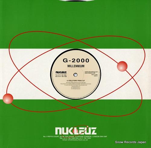 G-2000 millennium NUKP0198 - back cover