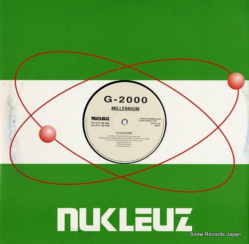 G-2000 millennium NUKP0198 - front cover