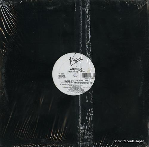 ARIZONA slide on the rhythm Y-12682 - back cover