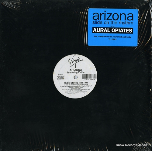 ARIZONA slide on the rhythm Y-12682 - front cover