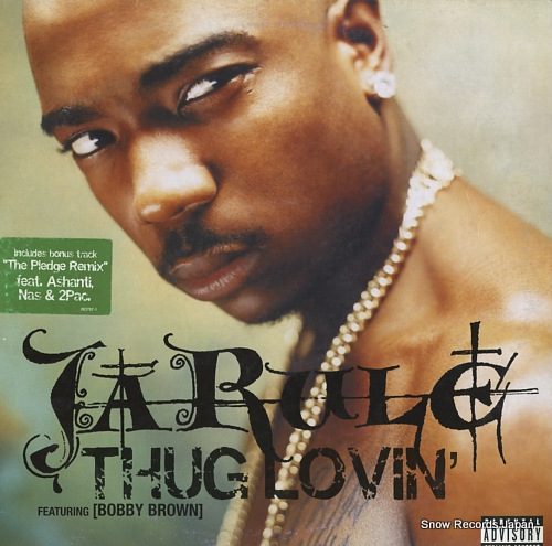JA RULE thug lovin' 063787-1 - front cover