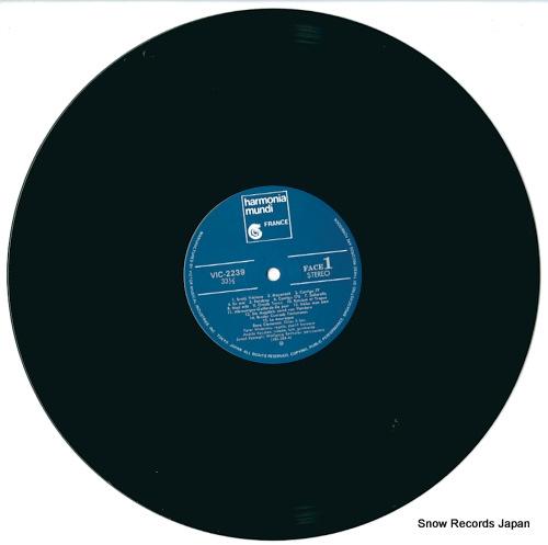 CLEMENCIC, RENE et ses flutes VIC-2239 - disc