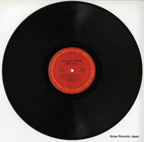 CECILIO AND KAPONO night music PC34300 - disc