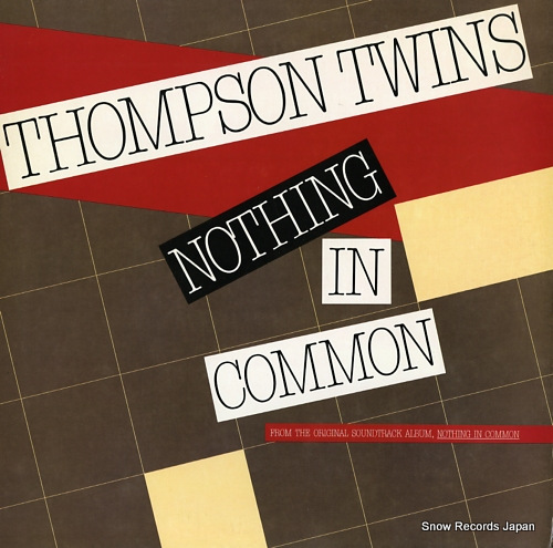 THOMPSON TWINS nothing in common AD1-9519 - front cover