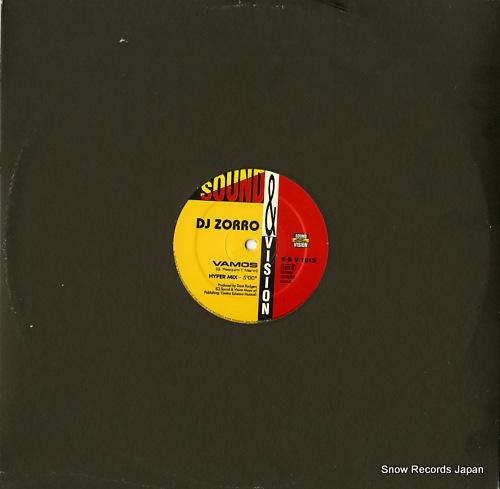 DJ ZORRO tequila / vamos S&V1513 - back cover