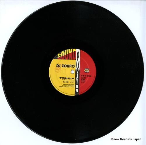 DJ ZORRO tequila / vamos S&V1513 - disc