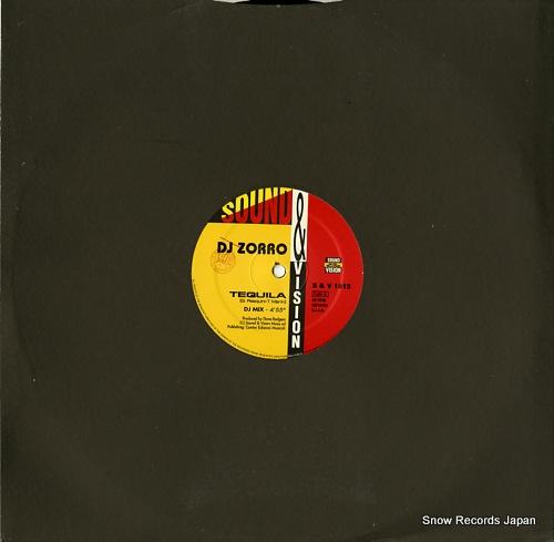 DJ ZORRO tequila / vamos S&V1513 - front cover