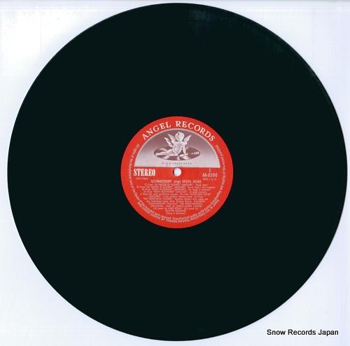 SCHWARZKOPF, ELISABETH opera arias AA-8590 - disc