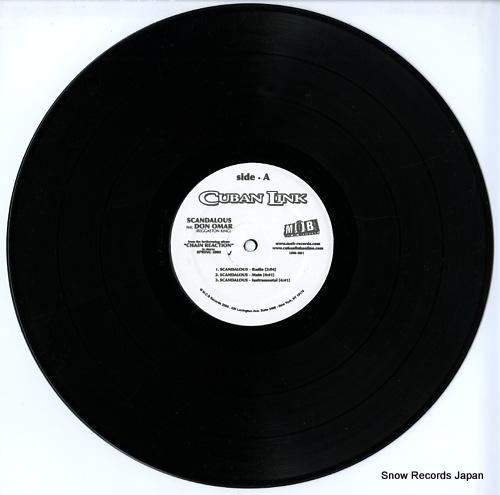 LINK, CUBAN scandalous / sugar daddy LINK-001 - disc