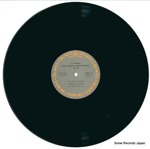 MEHTA, ZUBIN r.strauss; also sprach zarathustra, op.30 FCCA530 - disc