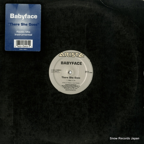BABYFACE there she goes 07822-13953-1 - front cover