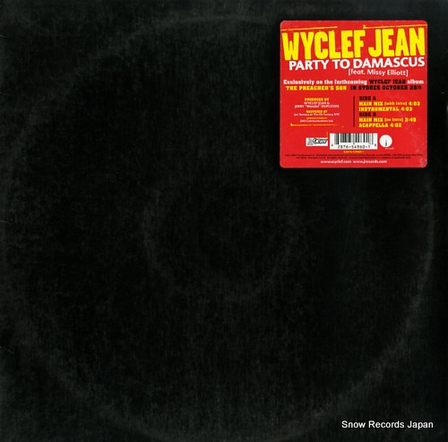 JEAN, WYCLEF party to damascus 82876-54960-1 - front cover