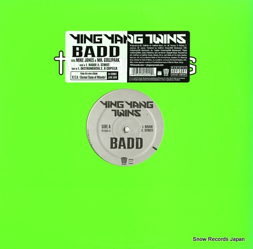 YING YANG TWINS badd TV-2524-0 - front cover