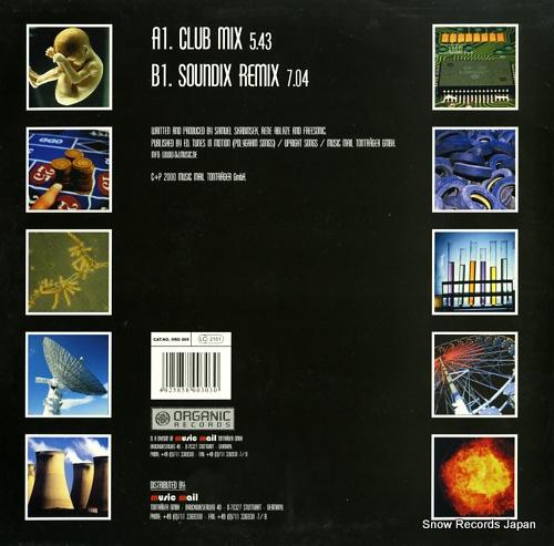 ANTRIEB menschen 2000 ORG009 - back cover