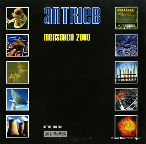 ANTRIEB menschen 2000 ORG009 - front cover