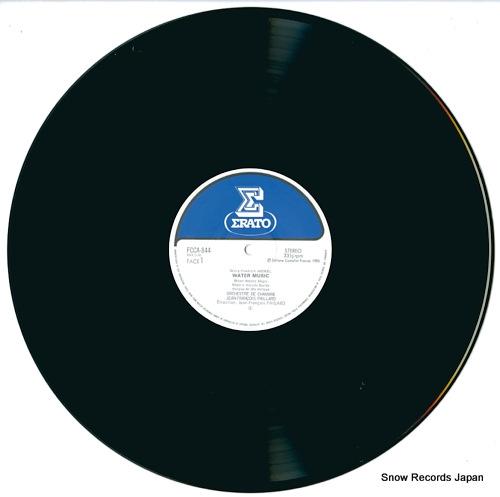 PAILLARD, JEAN-FRANCOIS handel; water music & fire works music FCCA844 - disc