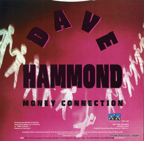 DAVE HAMMOND money connection TRD1430 - back cover