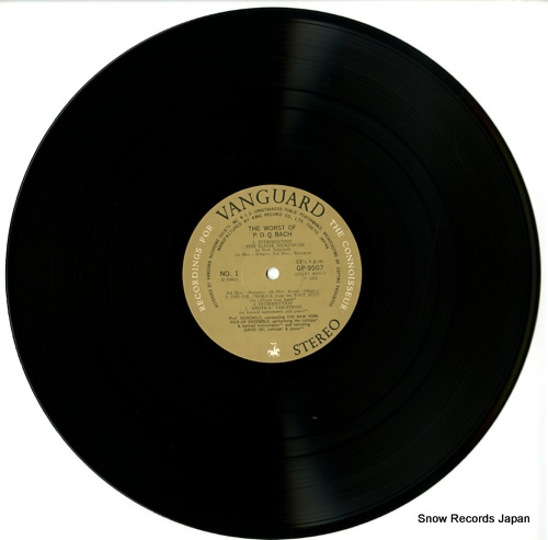 SCHICKELE, PETER worst of p.d.q.bach GP-9507 - disc
