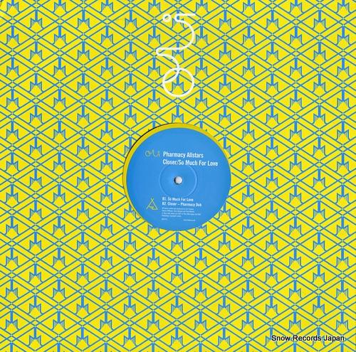 PHARMACY ALLSTARS closer / so much for love 909TP12 - back cover