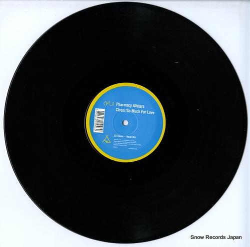 PHARMACY ALLSTARS closer / so much for love 909TP12 - disc