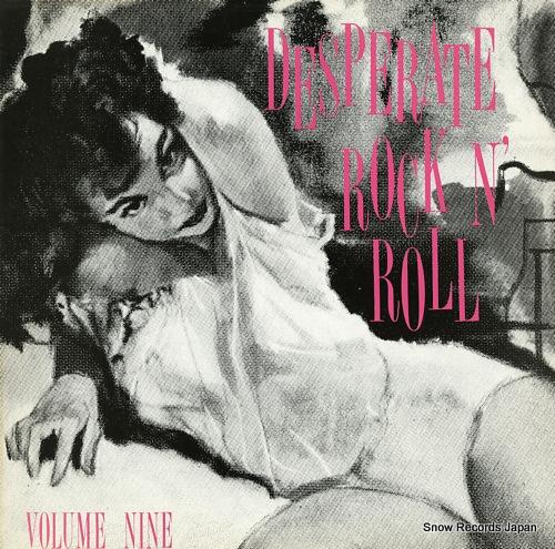 V/A desperate rock n' roll volume nine FLAME009