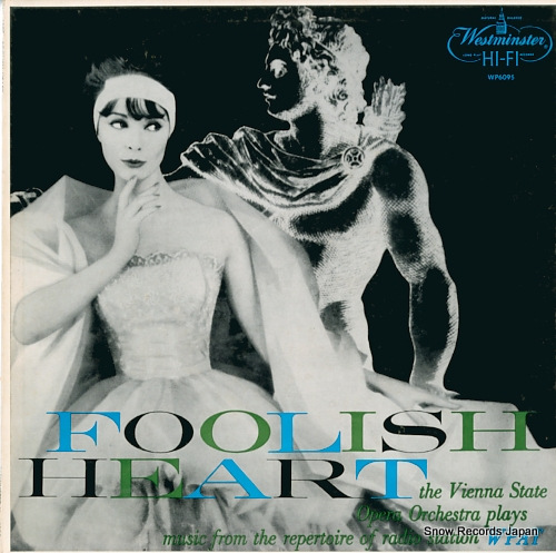 VIENNA STATE OPERA ORCHESTRA foolish heart WP6095 - front cover