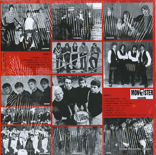 V/A at the club (16 killer beat-punkers from europe) MR196566 - back cover