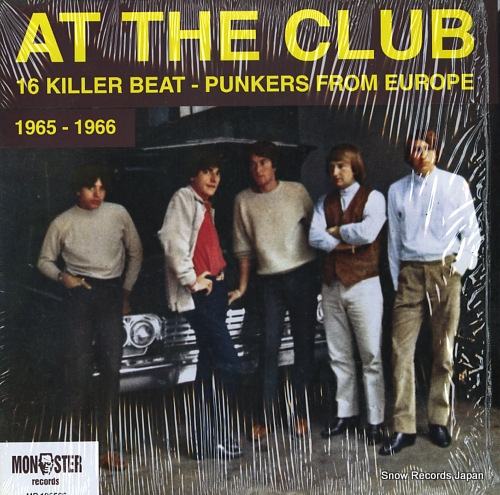 V/A at the club (16 killer beat-punkers from europe) MR196566 - front cover