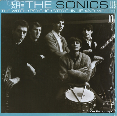 ザ・ソニックス here are the sonics!! NW903