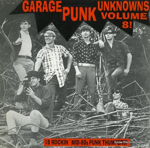 V/A garage punk unknowns volume8! CRYPTLP-064