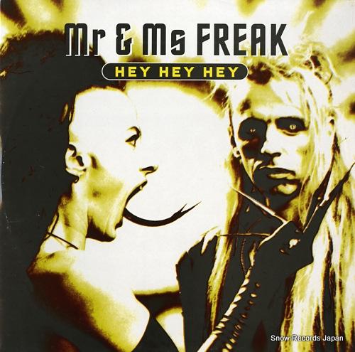 MR. & MRS. FREAK hey hey hey WL041 - front cover