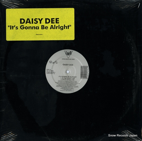 DEE, DAISY it's gonna be alright 07863-62245-1 - front cover