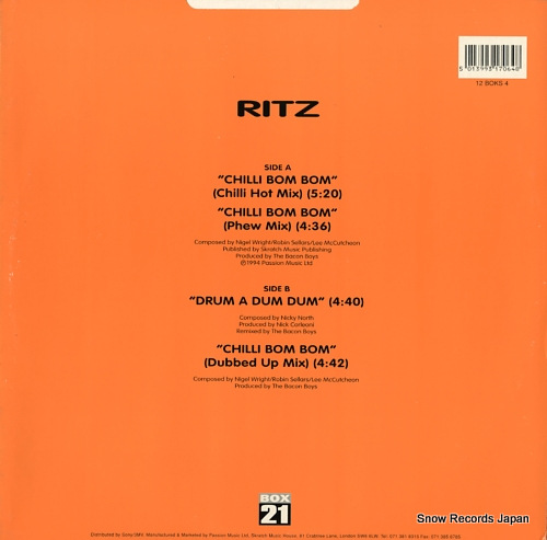 RITZ chilli bom bom 12BOKS4 - back cover