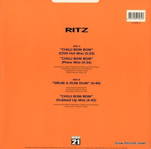 RITZ chilli bom bom 12BOKS4 - back cover