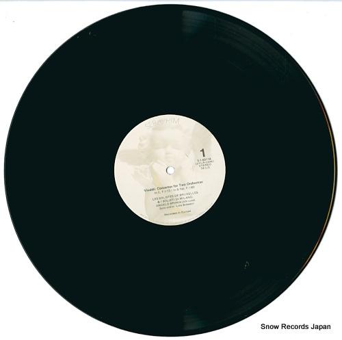 EPHRIKIAN, ANGELO vivaldi; four concertos for two orchestras S-60118 - disc