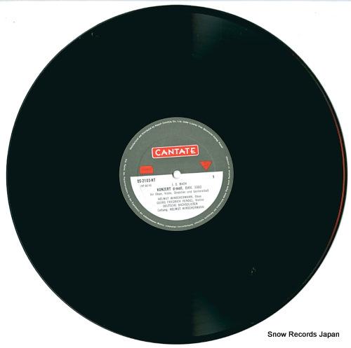 WINSCHERMANN, HELMUT bach; konzert d-moll, bwv1060 OS-2103-KT - disc