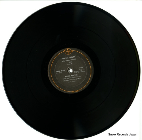 V/A the avant garde string quartet in the u.s.a SVBX5306 - disc