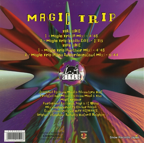 L.A. STYLE magic trip 2101594 - back cover