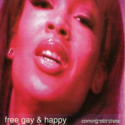 COMING OUT CREW free gay & happy 12OOV002 - front cover